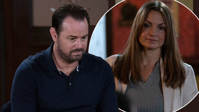 Mick Carter comes face-to-face with his abuser Katy Lewis for the first time