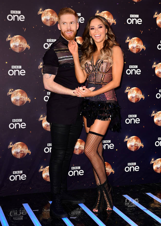Neil and Katya Jones are both professionals on Strictly Come Dancing