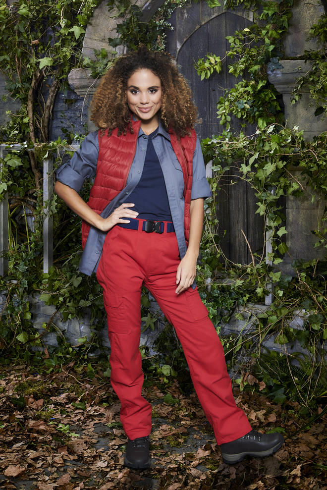 Jessica Plummer is taking part in I'm A Celeb