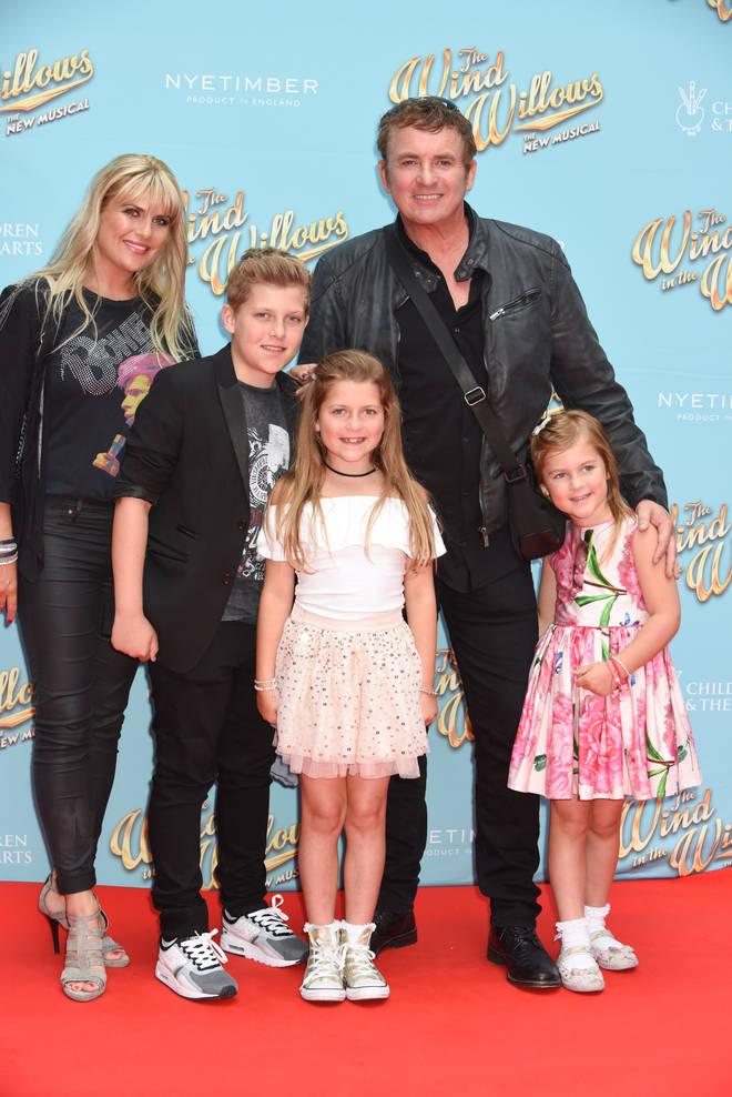 Shane Richie has three children with his wife Christie