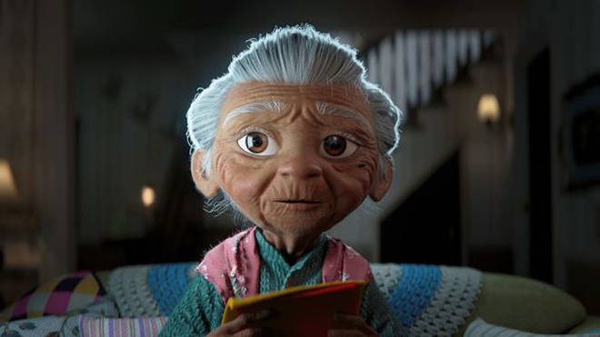 Lola is the star of the new Disney Christmas Advert 2020