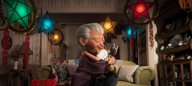 Lola and her granddaughter are part of a heartwarming story for Disney's Christmas ad