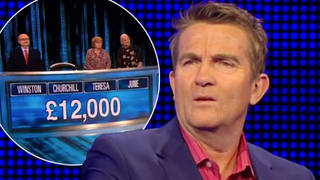 The Chase fans were stunned by the strange coincidence last night