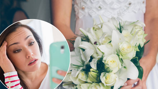 A woman has said she doesn't want her nephew at her wedding