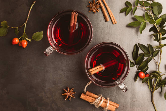Mulled wine is a wonderful festive treat