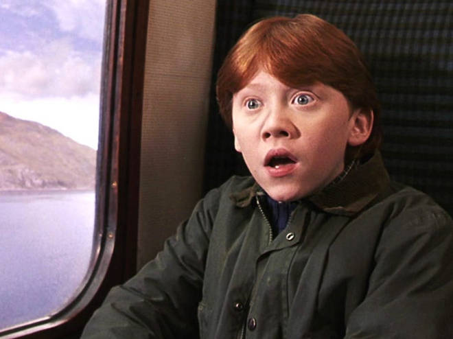 Rupert played Ron Weasley in the Harry Potter films