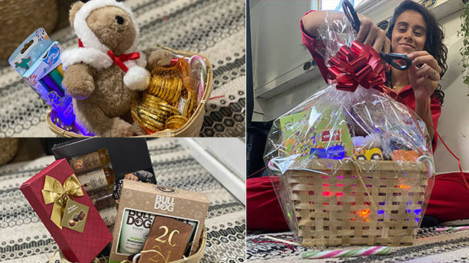 Katrina's got her top tips for perfect Christmas hampers