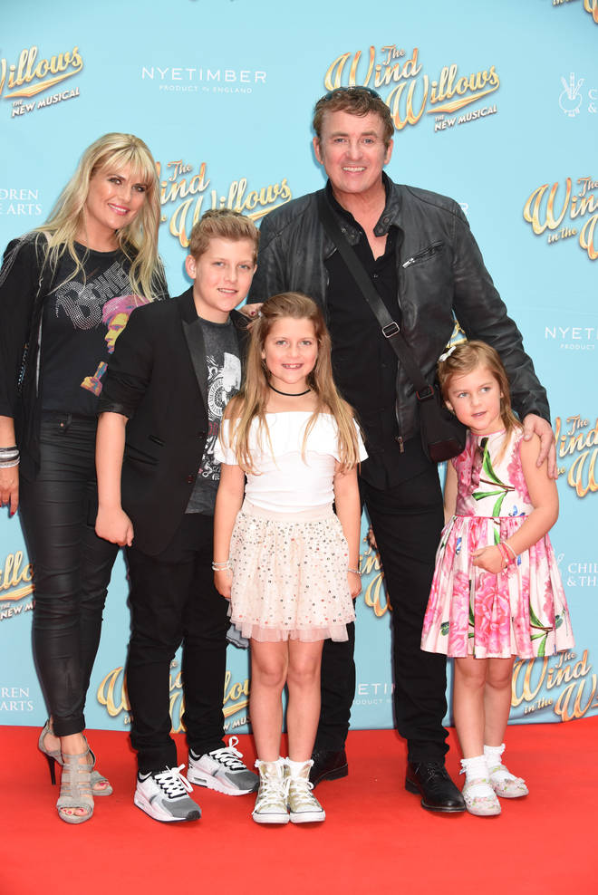Shane Richie has three children with his wife Christie