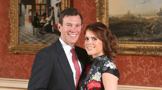 Princess Eugenie and fiancé Jack Brooksbank