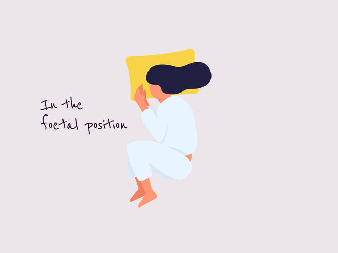Foetal sleeping position