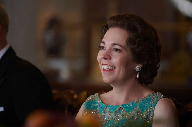 Olivia Colman stars as Queen Elizabeth II in The Crown