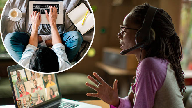 84 per cent of Brits say that office jargon has infiltrated their personal lives during lockdown
