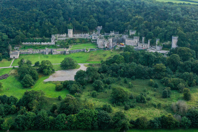 Gwrych Castle is in North Wales