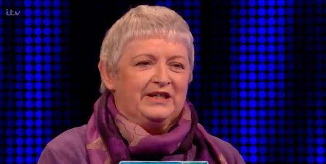 Leslie lost out on £6k with her answer on The Chase