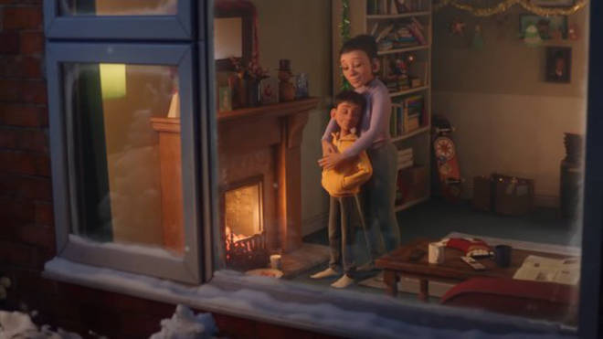 The McDonald's Christmas ad 2020 focusses on family