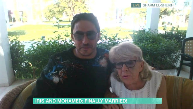 Iris and Mohamed are on their honeymoon