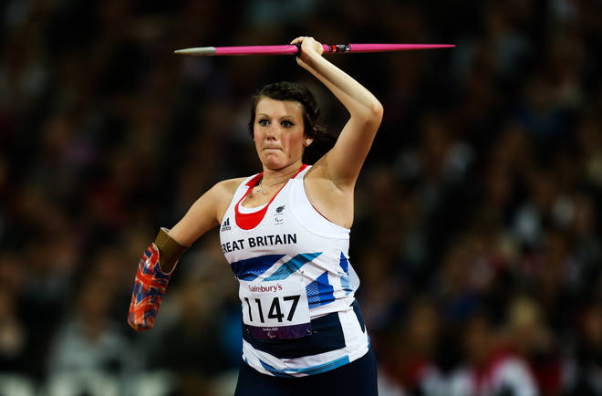 Hollie Arnold is a Paralympic champion