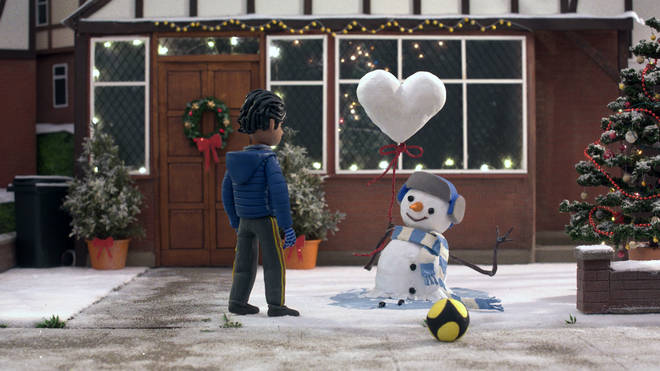 John Lewis used different forms of moving art, including animation, claymation and CGI
