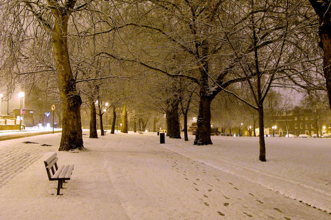 The UK could see some snow this November