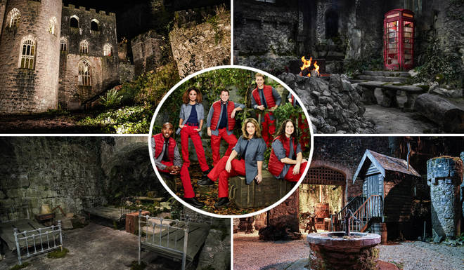 The I'm A Celebrity castle looks anything from cosy