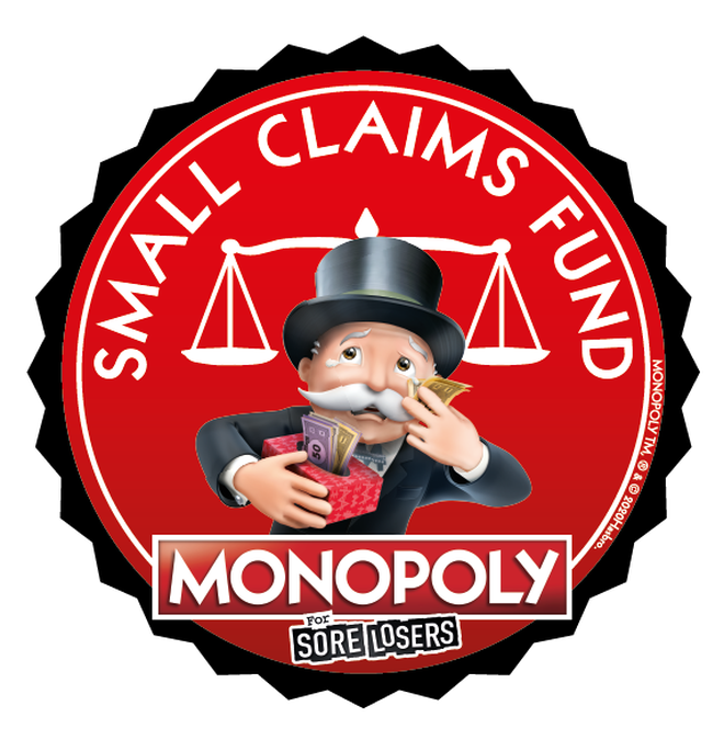 Monopoly has launched a small claims fund