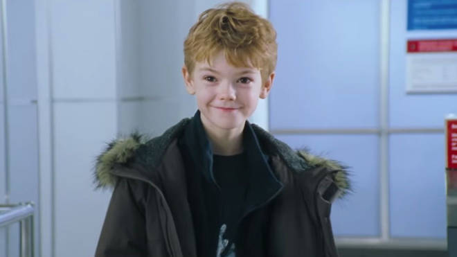 Thomas played Sam in Love Actually