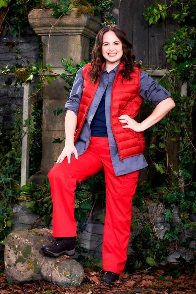 Giovanna Fletcher will enter the Welsh castle on Sunday night