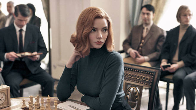 Anya stars in The Queen's Gambit on Netflix
