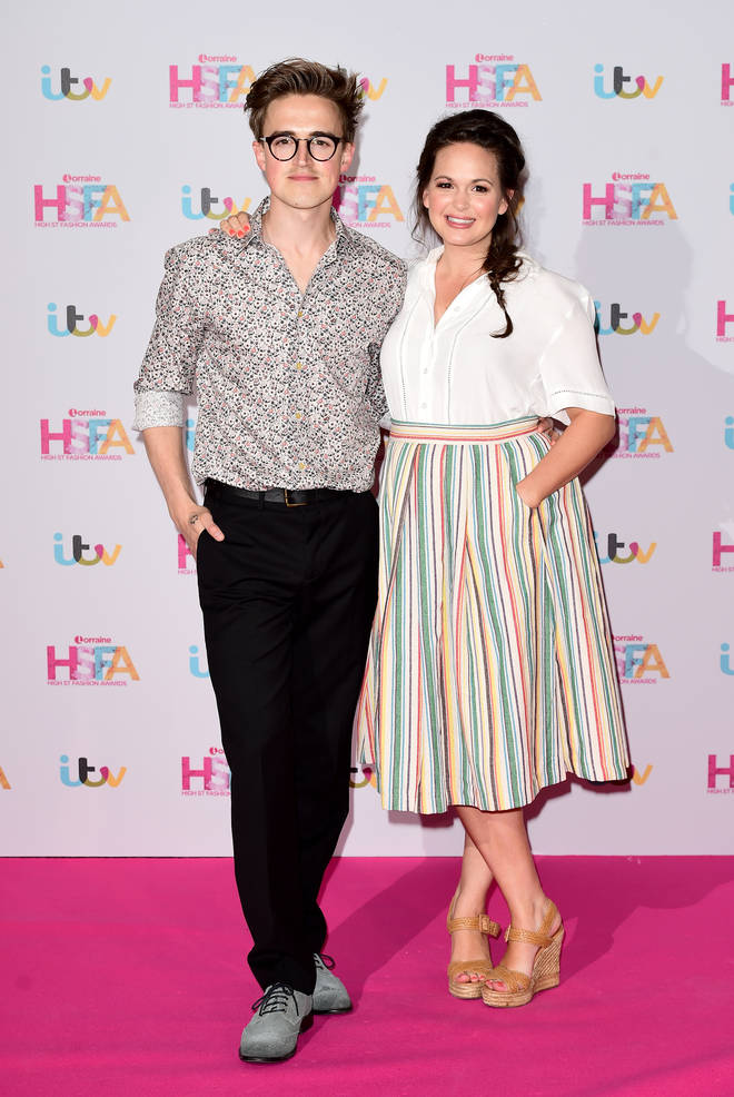 Tom and Giovanna Fletcher met when they were 13