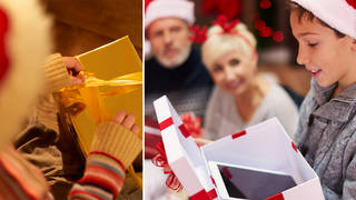 The social worker has urged parents to say expensive gifts are from them (stock images)