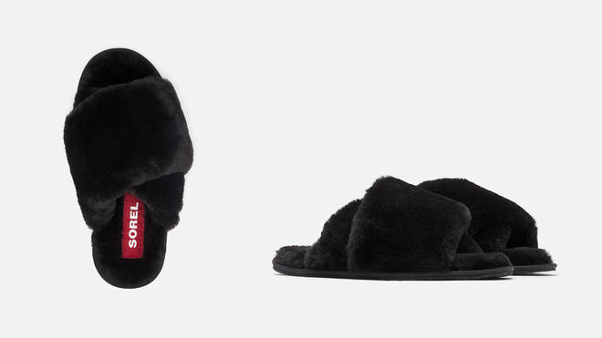 Make sure your mum stays warm in the winter month with these faux fur slippers
