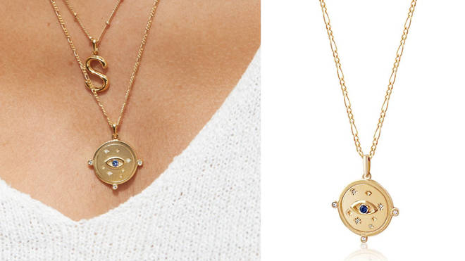 The Visionary Charm Necklace by ethical and luxury jewellery brand Edge of Ember