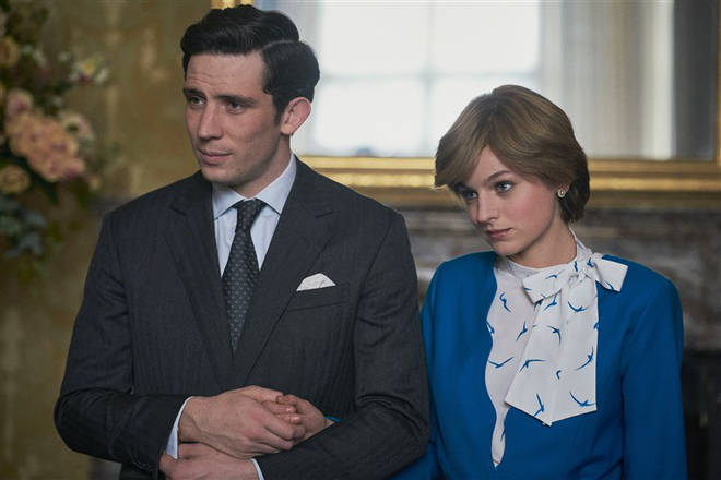 The Crown is available to stream on Netflix now