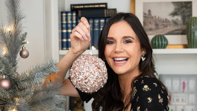 The cocktail kisses beaded hanging bauble is a must-have
