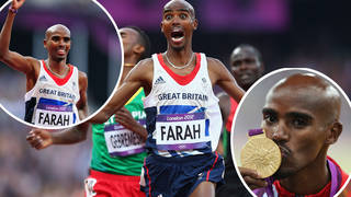 Mo Farah won his first Olympic gold medal in 2012