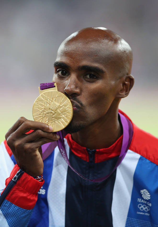 Mo Farah has a total of four Olympic gold medals