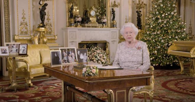Her Majesty prerecords a speech every year