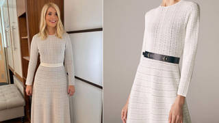 Holly Willoughby's dress is from The Fold London