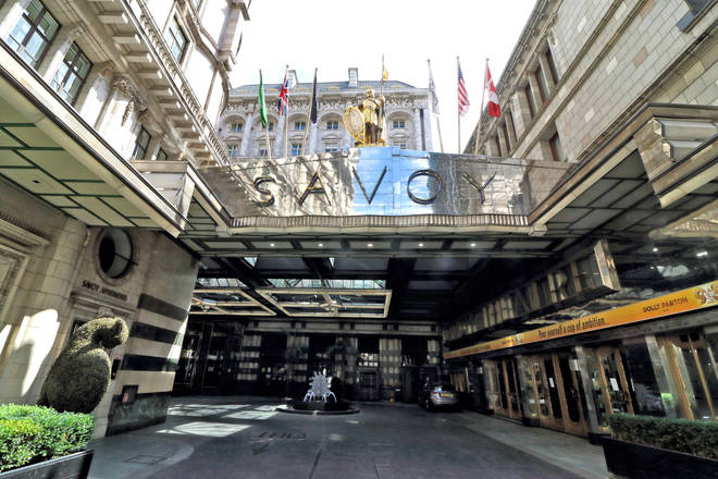 You could stay at The Savoy hotel for free