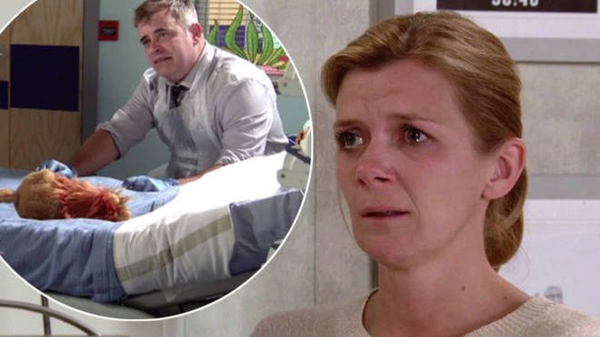 Coronation Street's Leanne and Steve lose their son Oliver next week