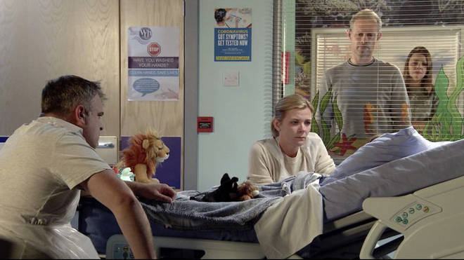 Leanne and Steve are left devastated by Oliver's death