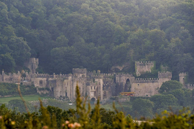 I'm A Celeb is being filmed in Gwrych Castle, North Wales