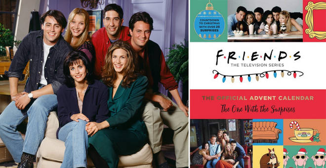 You can now buy a Friends advent calender