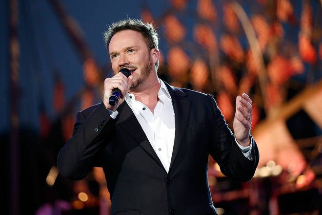 Russell Watson had to work hard to get his voice back