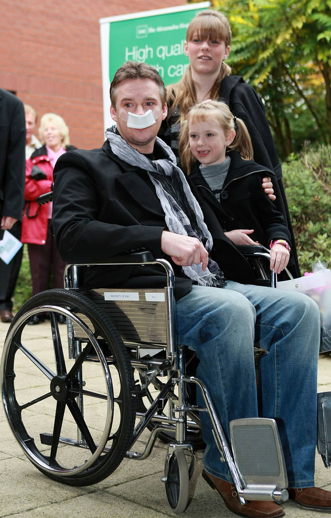 Russell was first diagnosed with a brain tumour in 2006