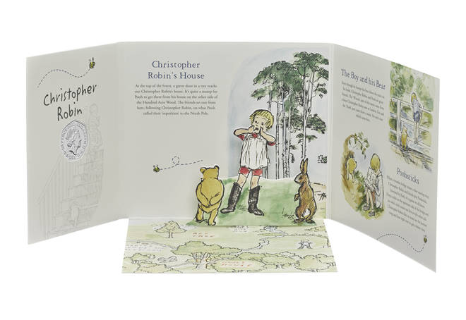 Christopher Robin was the second coin to be released