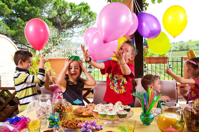 The mum wasn't sure how to react to paying £25 for her child to go to the party (Stock image)