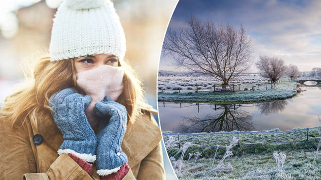 A cold snap is heading for the UK
