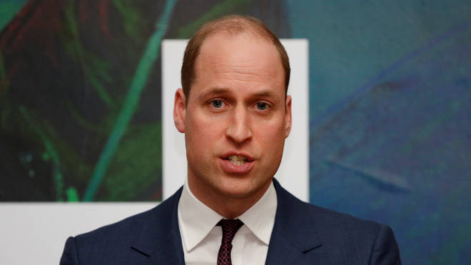 Prince William has released a statement