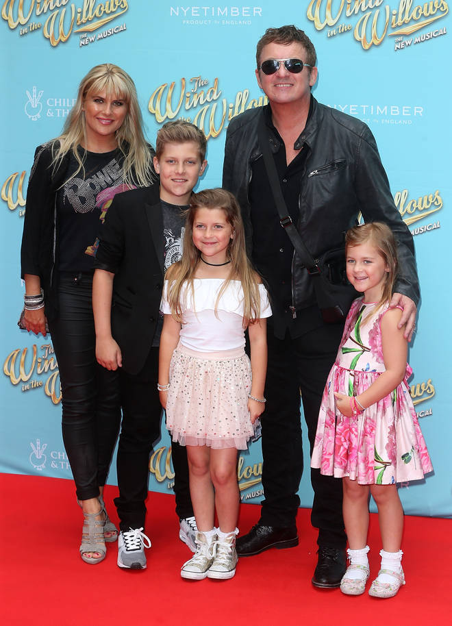 Shane and his wife Christie have three children together